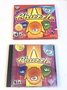CHUZZLE 2005 Puzzle Video Game PC CD-ROM Rated E makers of Bejeweled Complete