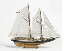 "Elegant, brand new wooden model ship kit by Billing Boats: the ""Bluenose II"""