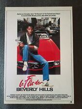 carte postale cinéma film Le flic de Beverly Hills Eddie Murphy