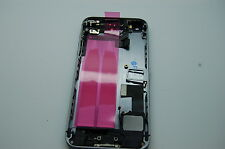 NEW IPHONE 5S BLACK COMPLETE BACK COVER, COMPLETE SHELL,HOUSING ALL INNER PARTS
