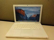 "Apple 13"" MacBook 2GHz Intel C2D 2GB RAM 120GB HDD Early 2009 A1181 2300 NVIDIA"