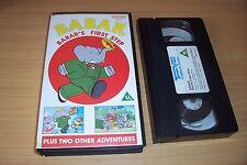 Babar's First Step (VHS)