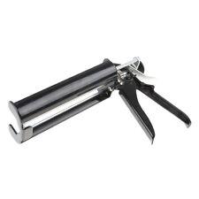 Dual-Barrel Steel Caulk Sealant Dispenser for 400ml 1:1 Ratio Cartridges