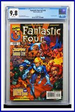 Fantastic Four #v3 #18 CGC Graded 9.8 Marvel June 1999 White Pages Comic Book