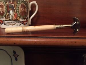 antique bone handled Diamond Glass Cutter