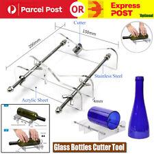 Adjustable Glass Bottle Cutter Kit Jar Cutting Metal Machine Recycle Tool Craft