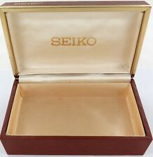 .LARGE VINTAGE JAPANESE MADE SEIKO MENS WATCH DISPLAY BOX.