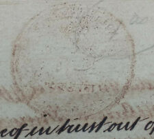 India 1859 mortgage deed with embossed stamp value Rs.160Ans.6