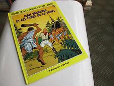 EDDY PAAPE . VALHARDI N°15 . ET LES ÊTRES DE LA FORÊT . EO . 1987 .