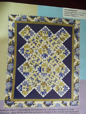 BUTTERFLIES ARE FREE QUILT PATTERN - PIECED - BY PAT FORKE