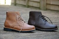 Hiking Leather boots - Recycled tyre soles - Original GoodYear Welt Construction