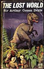 THE LOST WORLD by Sir Arthur Conan Doyle - British paperback 1960 - Very Good