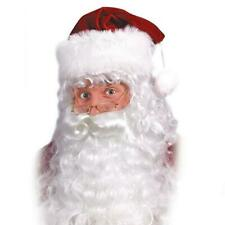 Santa Beard and Wig Set Includes Eyebrows XMAS Costume Accessory Fun World