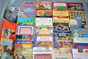 QUILTING /PATCHWORK BOOKS