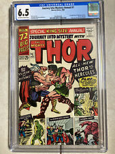 Journey into Mystery King Size Annual 1 CGC 6.5 1st Hercules Zeus 3 Day Auction
