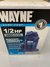 Wayne sump pump, 1/2 hp, 3900 gph, SPT50, submersible
