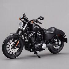 Maisto Harley Davidson Sportster Iron 883 1:12 Motorcycles Diecast Model Toy
