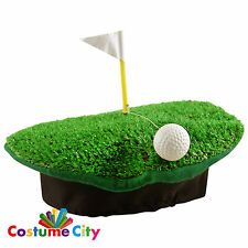Adults Crazy Golf Pub Golf Novelty Hat Fancy Dress Stag Do Costume Accessory