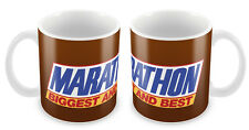 Marathon bar Mug - Retro sweets snickers gift idea unique 90s 80s vintage cool