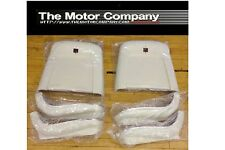 1969 1970 1971 1972 Pontiac GTO LeMans Tempest Seat Backs & Bottoms WHITE