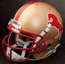 JOE CRIBBS Edition USFL BIRMINGHAM STALLIONS Full Size REPLICA Football Helmet