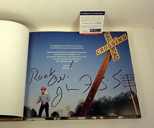 JOHN FOGERTY CCR SIGNED AUTOGRAPH LOOKIN OUT MY BACK DOOR PHOTO BOOK PSA/DNA COA