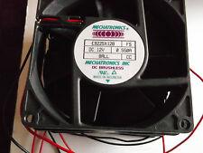 E9225X12B MECHATRONIC - QTY 3 - NEW 92X92X25 12VDC .55A 60CFM 43dBA