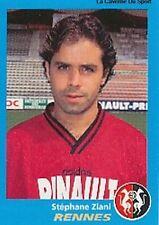 N°302 STEPHANE ZIANI RENNES RENNAIS VIGNETTE PANINI FOOTBALL 96 STICKER 1996