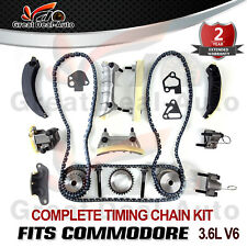 For Holden Commodore Timing Chain Kit +Gears VZ VE VF LY7 LE0 3.6L V6 06-ON