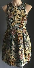 Gorgeous HOT OPTIONS Multi Colour Tapestry Print Sheath Dress Size 8