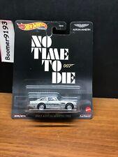 2020 Hot Wheels Premium No Time To Die James Bond 1963 Aston Martin Db5