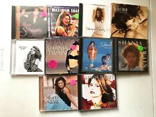 SHANIA TWAIN CD LOT OF 10! COME ON,HITS,WOMAN,NOW,UP,BEGINNINGS,LIMELIGHT+