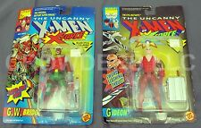 "Marvel Comics Uncanny X-Men X-Force GIDEON & GW BRIDGE 5"" Action Figure ToyBiz"