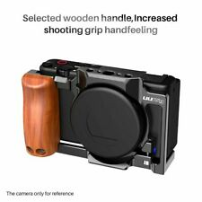 UURig R056 Camera Cage Case Quick Release Handle Grip Extension For Sony ZV1