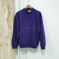 Vintage Nike sweatshirt spell out crewneck Jumper shirt size (M) purple