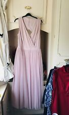 -LOVEDROBE- TALL NUDE CUT OUT BACK PROM/BRIDESMAID MAXI Dress Size 20/22 BNWT