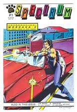 "SPECTRUM (Cat's Paw) #1 (6/91)--VF+ /Indie Action-Adv; ""Morgana X"", ""Nightstar""^"
