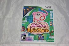 Kirby's Epic Yarn (Nintendo Wii, 2010) Brand New Factory Sealed