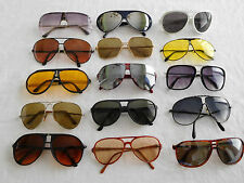Lot of 15 Vintage Aviator Sunglasses Metal Plastic Frame 70s 80s 90s  (15-3)