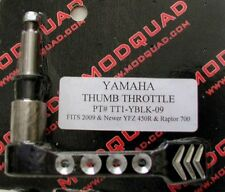 MODQUAD Thumb Throttle Lever Raptor 700 YFZ 450 450R (2009 and newer) Black