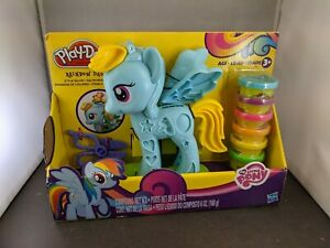 Play Doh My Little Pony Rainbow Dash Style Salon New In Package