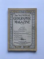 National Geographic Magazine - July 1916 - The Luster Of Ancient Mexico
