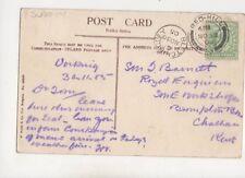 Sergeant Major Tom Barnett Royal Engineers Brompton Barracks Chatham 1905 406b