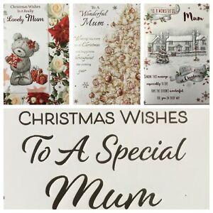 "MUM CHRISTMAS CARD/ MOTHER CHRISTMAS CARD   5.5""x7.5""   (XMAS9)"