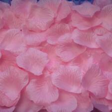 100 pétales de rose Rose. Décoration de table mariage cérémonie 5x5cm.