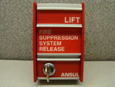 Ansul 78420 Fire Suppression System Release, Ms-2, 6A @ 30 Vdc, Key Included
