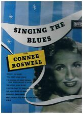 CONNEE BOSWELL - SINGING THE BLUES LP