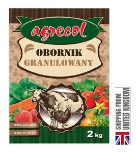 Manure, Organic Fertilizer, Odorless Granular For All Plants 2KG