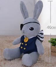 Black Butler Kuroshitsuji Dall Ciel Phantomhive Plush Doll Peter Rabbit Toy Soft