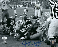 1967 PACKERS Jerry Kramer signed Ice Bowl 8x10 photo JSA COA AUTO Green Bay HOF